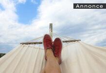 Hængekøje i sommervarmen